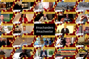 Spendenaktion #machanders #machweiter